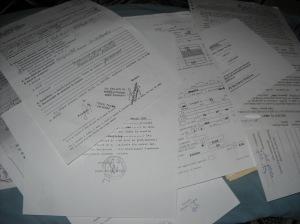 acte  hârtii